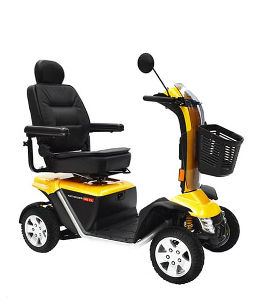 Pride 140xl Mobility Scooter Yellow