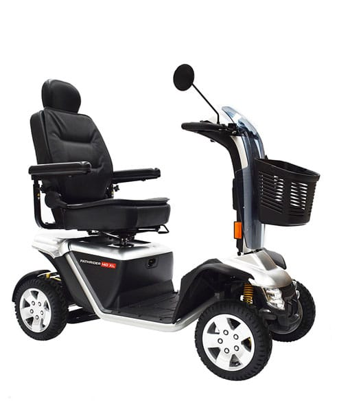 Pride 140xl Mobility Scooter Silver