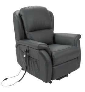 Drive Medical Stella Electric Recliner Lift Chair – Leather – Twin Motor