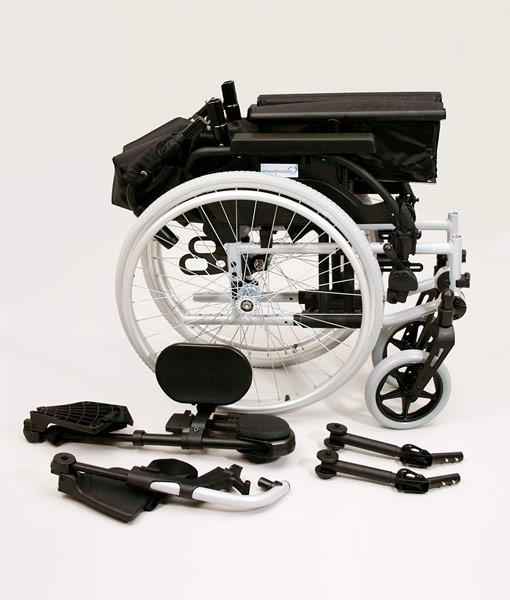 Sunrise Medical Breezy BasiX 2 Folding Wheelchair 5