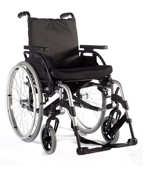 Sunrise Medical Breezy BasiX 2 Folding Wheelchair 3