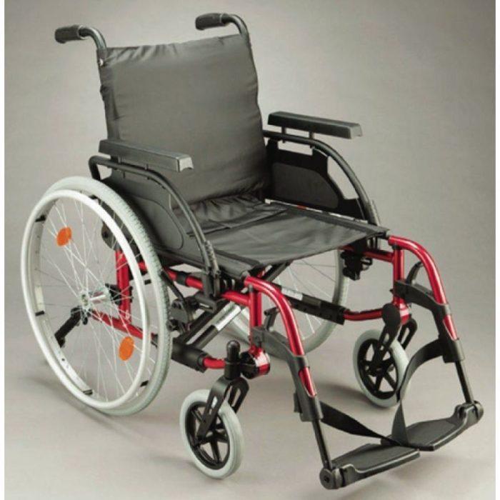 Sunrise Medical Breezy BasiX 2 Folding Wheelchair 2