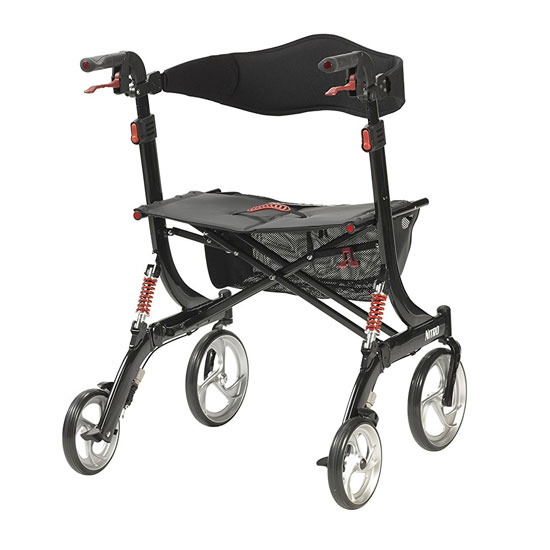 Drive Medical Nitro HD Seat Walker 3
