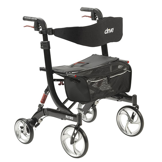 Drive Medical Nitro HD Seat Walker 1