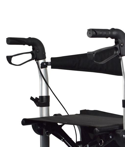 Hero Medical Wheelchair/Rollator - FUSION 2 IN 1 - Hero 4