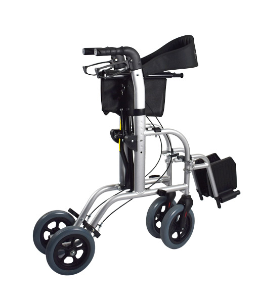 Hero Medical Wheelchair/Rollator - FUSION 2 IN 1 - Hero 2
