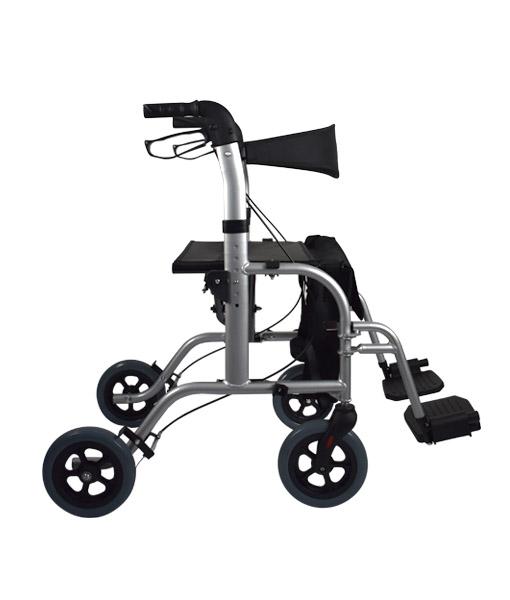 Hero Medical Wheelchair/Rollator - FUSION 2 IN 1 - Hero 3