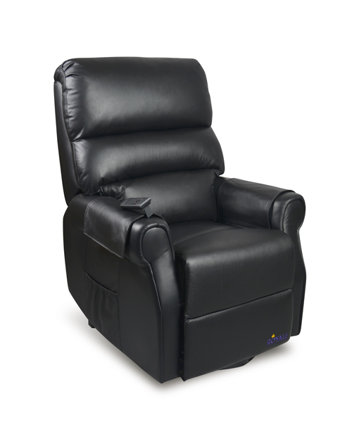 Royale Mayfair Luxury Electric Recliner Lift Chair Premium Leather 3