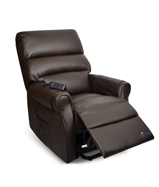 Royale Mayfair Luxury Electric Recliner Lift Chair Premium Leather 4