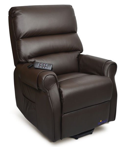 Royale Mayfair Luxury Electric Recliner Lift Chair Premium Leather 1