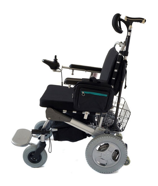 Travel Lite Electric Folding Power Chair - Phosphate Lithium Battery 15