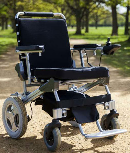 Travel Lite Electric Folding Power Chair - Phosphate Lithium Battery 12