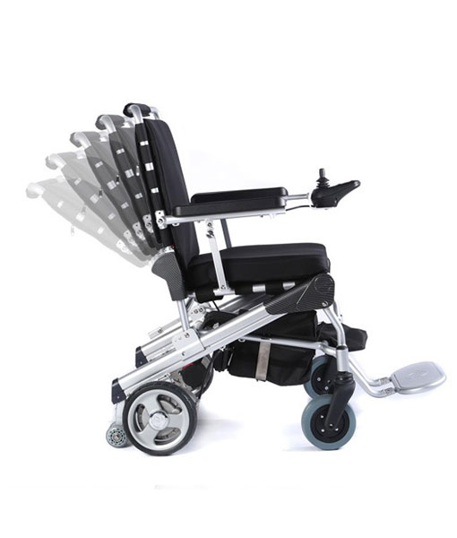 Travel Lite Electric Folding Power Chair - Phosphate Lithium Battery 11
