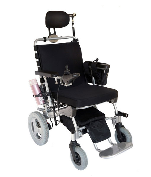 Travel Lite Electric Folding Power Chair - Phosphate Lithium Battery 5