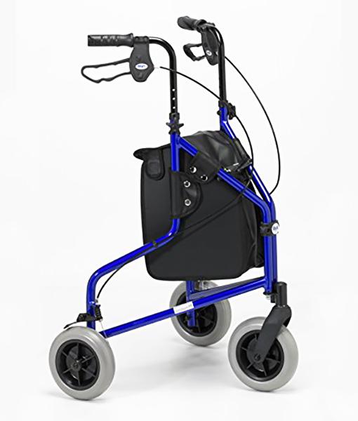 Days 240L Lightweight Aluminium Folding 3 Wheel Tri Walker 1
