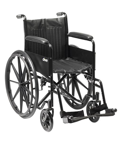 Drive Medical S1 Steel Wheelchair 1