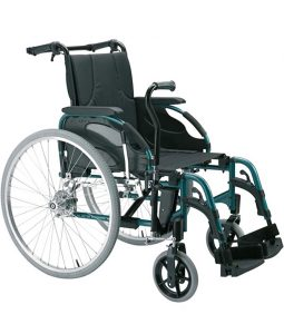 Invacare Action 3NG lever drive wheelchair – right hand side