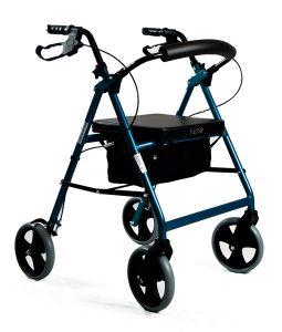Hero Medical Quad Seat Walker – 8 inch wheels