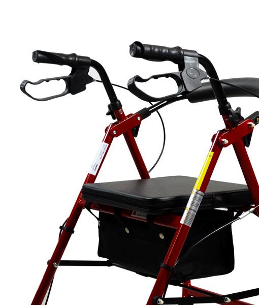 Hero Medical Seat Walker - Rollator - Four Wheeled Walker 16