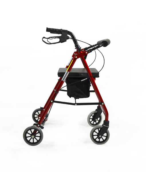 Hero Medical Seat Walker - Rollator - Four Wheeled Walker 15