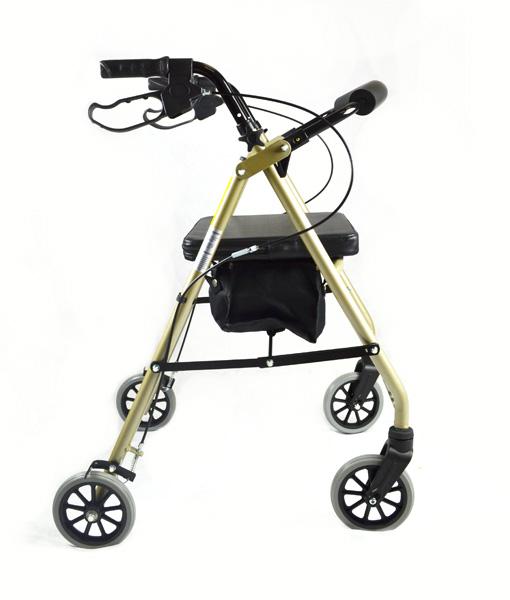 Hero Medical Seat Walker - Rollator - Four Wheeled Walker 14