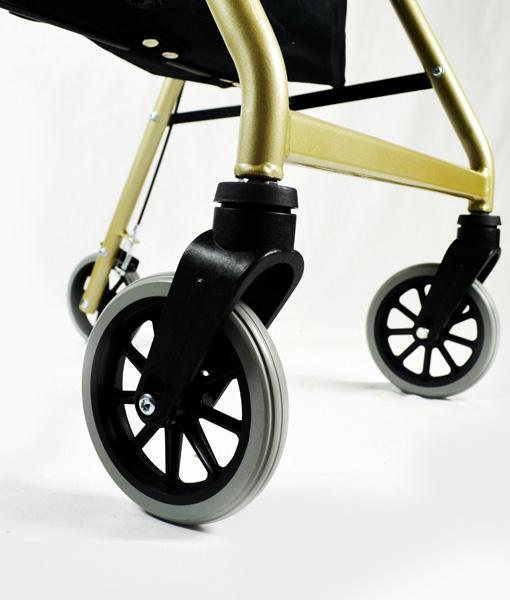 Hero Medical Seat Walker - Rollator - Four Wheeled Walker 13