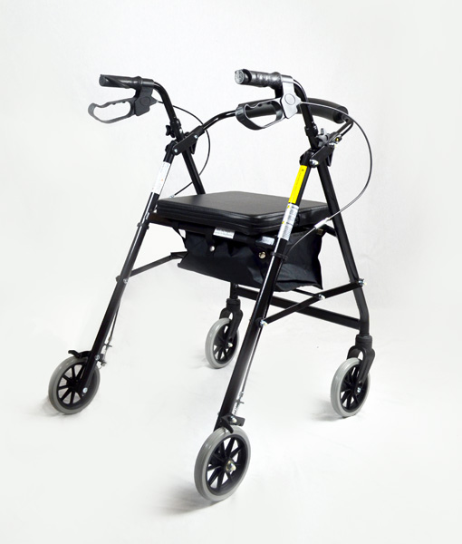 Hero Medical Seat Walker - Rollator - Four Wheeled Walker 12