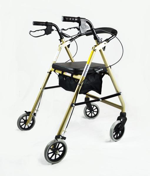 Hero Medical Seat Walker - Rollator - Four Wheeled Walker 7