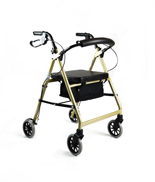 Hero Medical Seat Walker - Rollator - Four Wheeled Walker 5