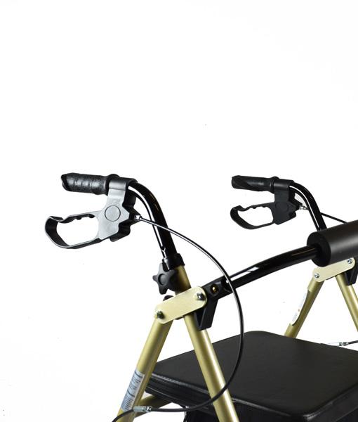 Hero Medical Seat Walker - Rollator - Four Wheeled Walker 6