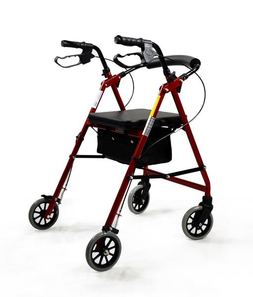 Hero Medical Seat Walker - Rollator - Four Wheeled Walker 2