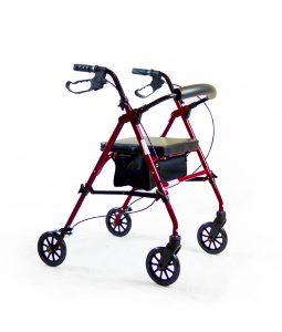 Hero Medical Deluxe Seat Walker with Adjustable Height