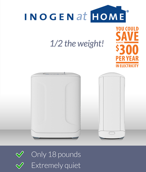 Inogen at HOME Oxygen Concentrator 7