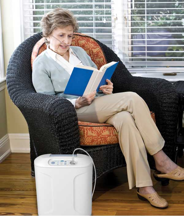 Inogen at HOME Oxygen Concentrator 3