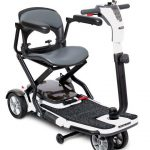 pride s19 folding mobility travel scooter