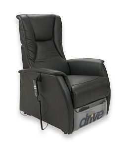 Days Healthcare Serena Electric Recliner Lift Chair – Premium Leather – Twin Motor