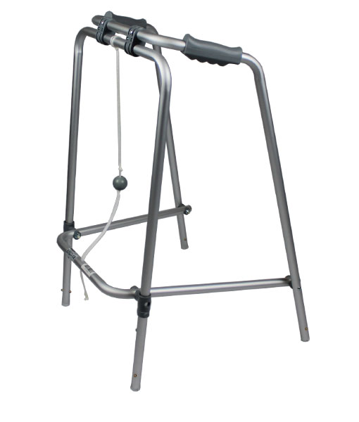 Folding Walking Frame - Ball and Rope 1