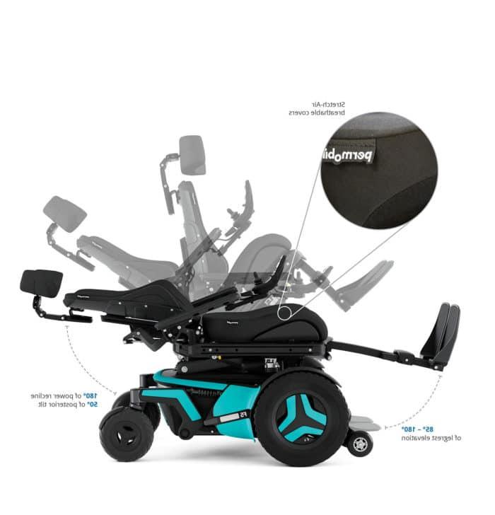 Permobil F5 Corpus Power Wheelchair 6