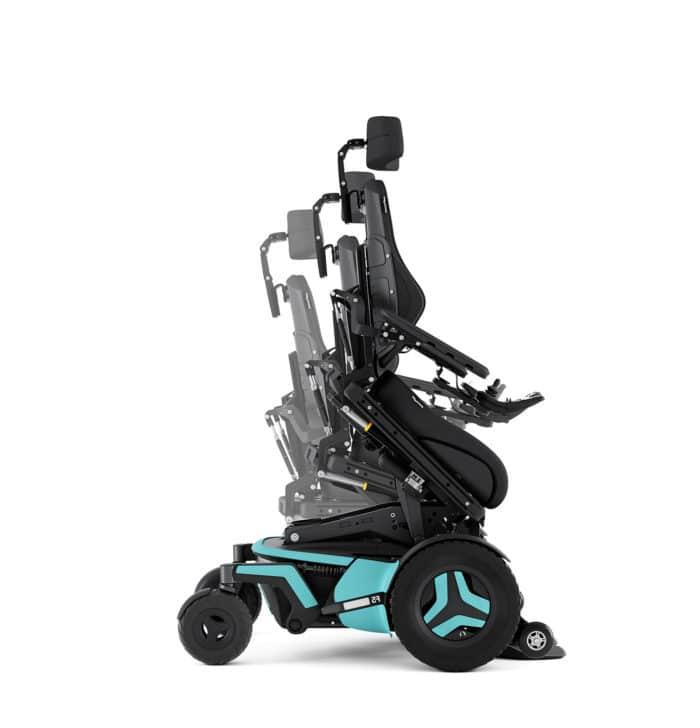 Permobil F5 Corpus Power Wheelchair 4