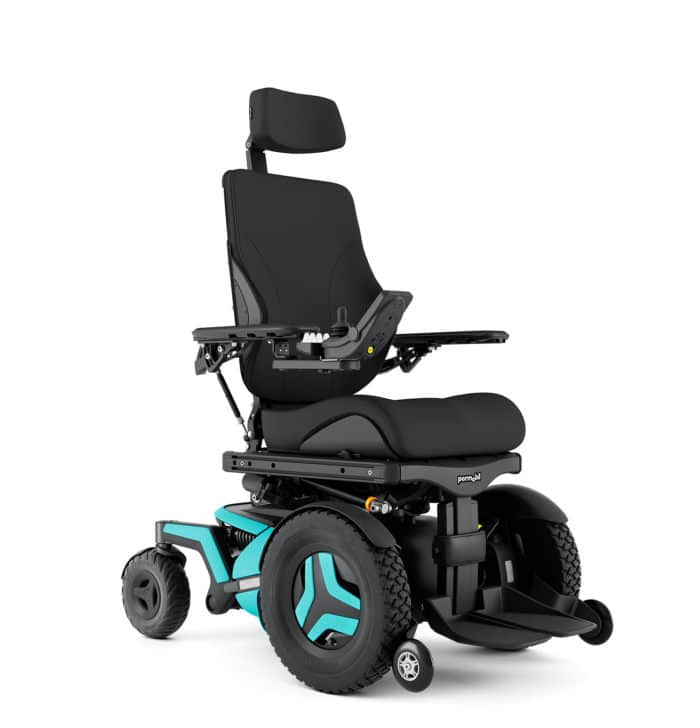 Permobil F5 Corpus Power Wheelchair 1